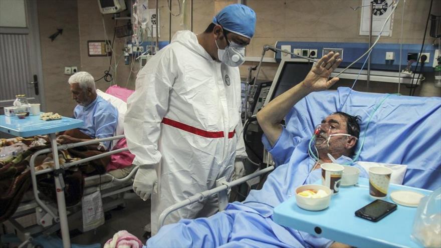 Irán lucha contra el coronavirus en medio de sanciones de EEUU
