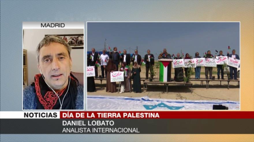 Lobato: Día de la Tierra Palestina homenajea expropiación de tierras