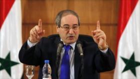 Siria denuncia que sanciones de EEUU socavan lucha contra COVID-19