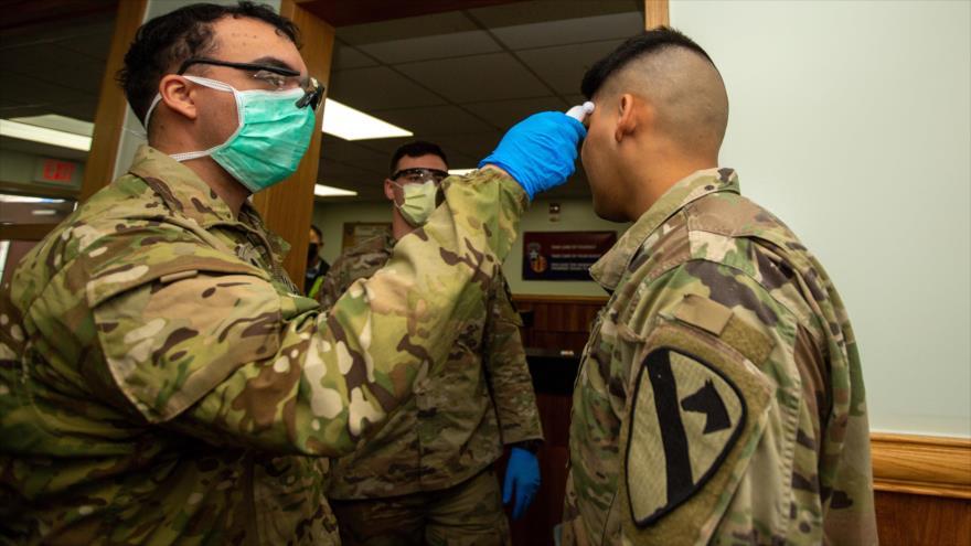Se duplica cifra de militares hospitalizados por COVID-19 en EEUU | HISPANTV