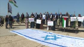 Palestinos conmemoran 44.º aniversario del Día de la Tierra