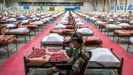Ejército iraní levanta en solo 48 horas un hospital de 2000 camas