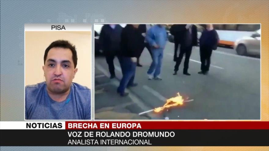 Dromundo: El COVID-19 no provoca salida de Italia de Unión Europea