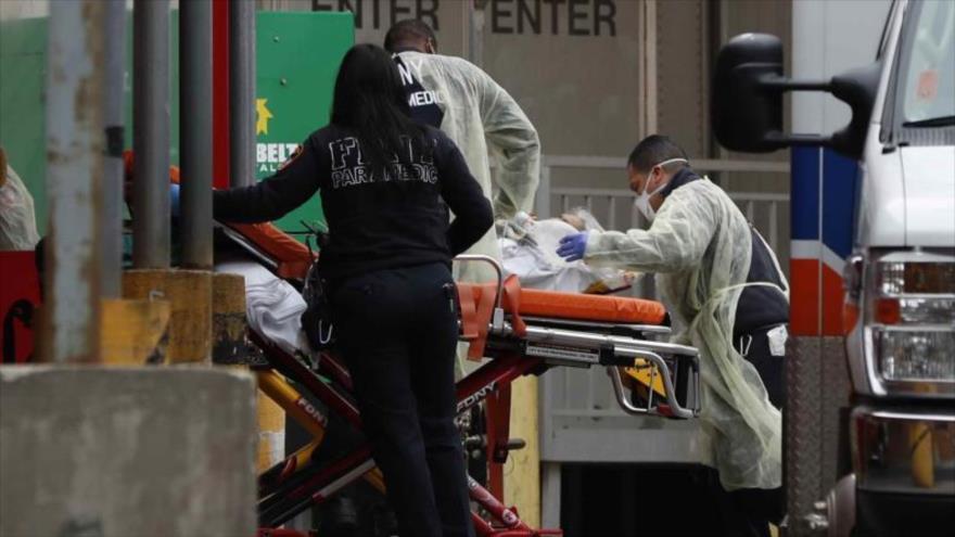 EEUU registra mayor número de muertos por COVID-19 en un día