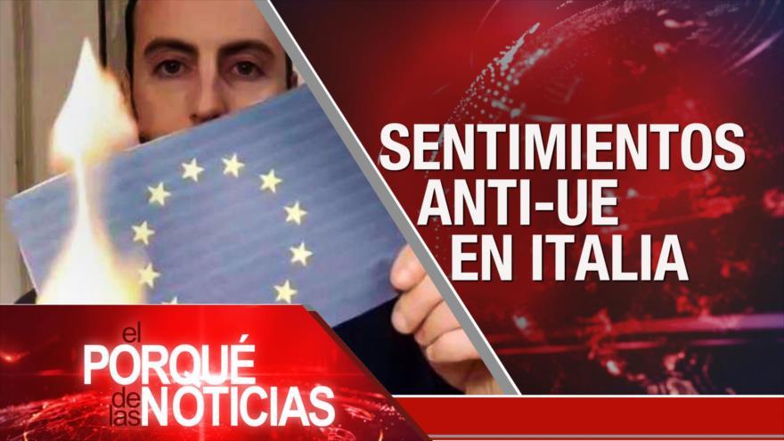 El Porqué de las Noticias: Día de la Tierra Palestina. Agresiones de EEUU. Italianos contra UE
