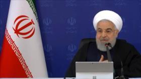 Rohani: Estadísticas sobre COVID-19 en Irán son esperanzadoras