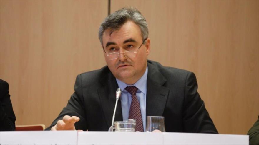 El embajador ruso en Caracas, Serguéi Melik-Bagdasárov.