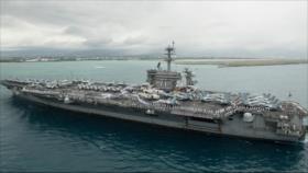 Pentágono rechaza evacuar portaviones de EEUU afectado con COVID-19