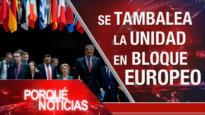 El Porqué de las Noticias: Sanciones inhumanas de EEUU. COVID-19 en el mundo. División en la UE por COVID-19