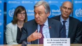 ONU: COVID-19 es la mayor crisis desde la Segunda Guerra Mundial