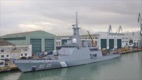Barco portugués hunde una nave de guerra de Venezuela