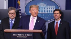 Trump ordena desplegar buques y aviones cerca de costas de Venezuela