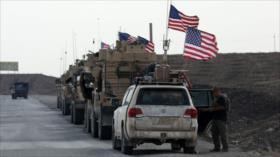 EEUU despliega nuevo convoy militar en zonas petroleras de Siria