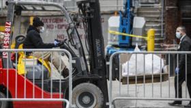Pentágono busca proveer 100 mil bolsas para cadáveres por COVID-19