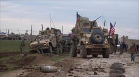 Vídeo: Tropas de EEUU interceptan convoy militar de Rusia en Siria