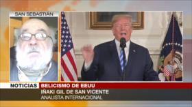 Iñaki Gil: EEUU utiliza la crisis del COVID-19 para agredir a Irán