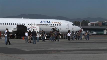 Guatemala recibe a migrantes deportados desde EEUU por COVID-19