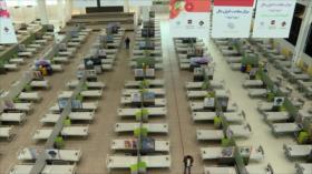 Irán usa un centro comercial para atender a pacientes del COVID-19