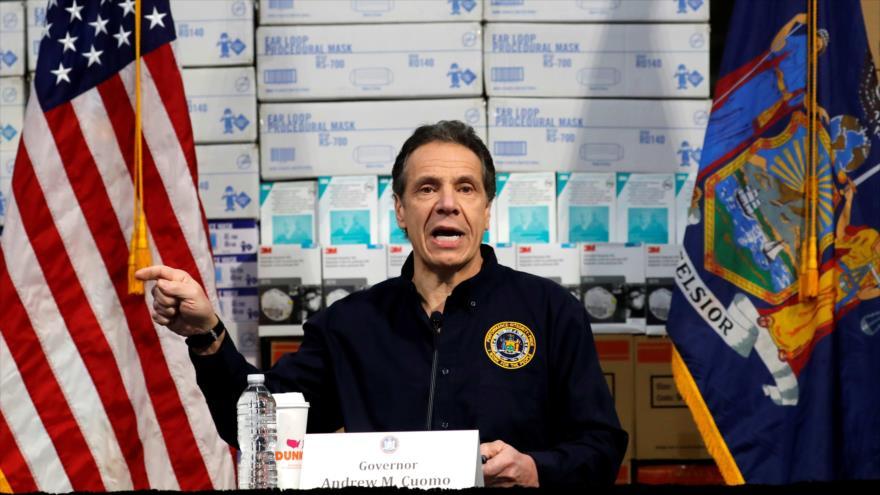 Alerta en Nueva York de EEUU: Más muertos y menos equipos médicos | HISPANTV