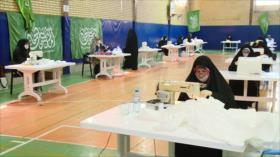 Fuerzas voluntarias de Irán se suman a la lucha contra COVID-19