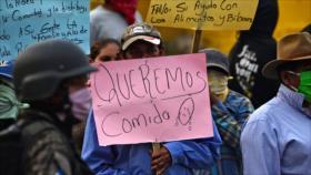 Hondureños piden comida al Gobierno en medio de coronavirus