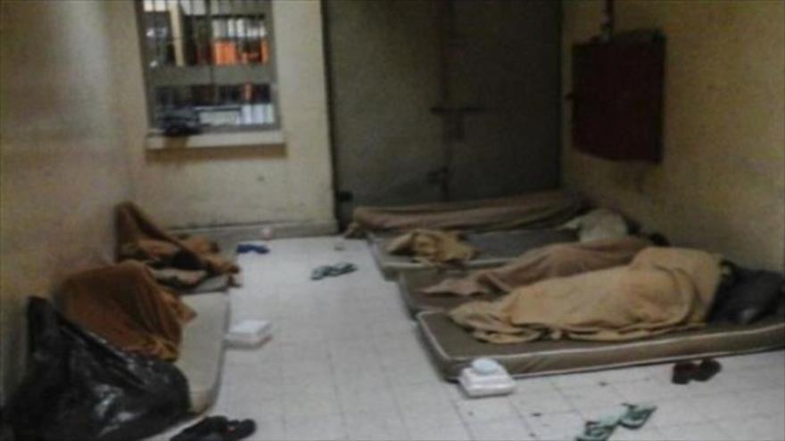 Una celda en la cárcel de Jau, al sur de Manama, la capital de Baréin.
