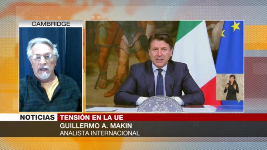 'Italia pide más atención de UE a sus necesidades ante COVID-19'