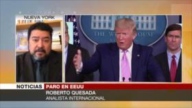 Quesada: Trump amenaza a Venezuela para rehuir críticas internas