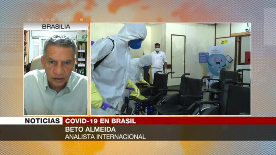 Almeida: Respuesta de Bolsonaro ante COVID-19 le ha arrinconado