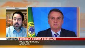 """""""Bolsonaro comete crímenes de lesa humanidad ante el coronavirus"""""""