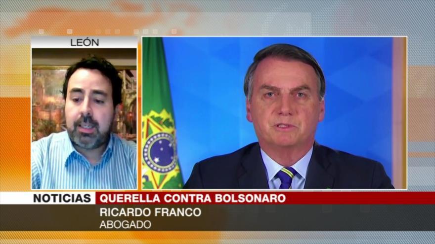 """Bolsonaro comete crímenes de lesa humanidad ante el coronavirus""   HISPANTV"