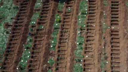 Vídeo: Mayor cementerio de Brasil, listo para víctimas del COVID-19