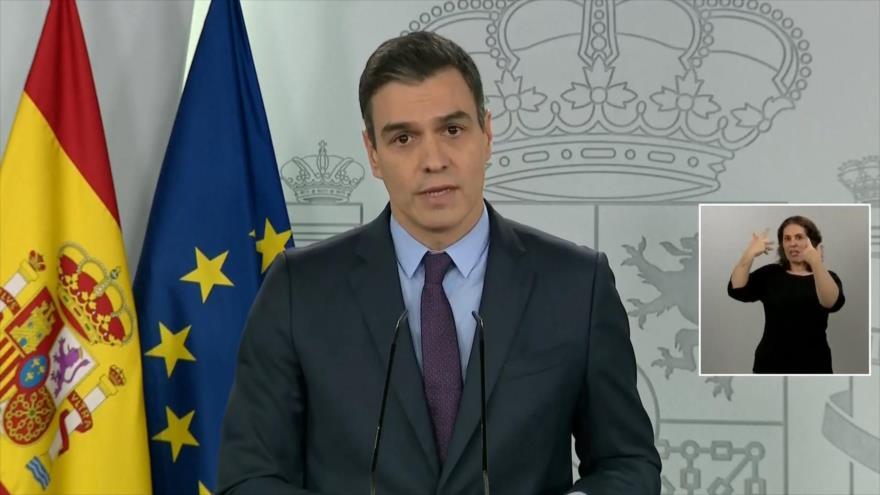 Sánchez pide la prórroga de estado de alarma para frenar COVID-19