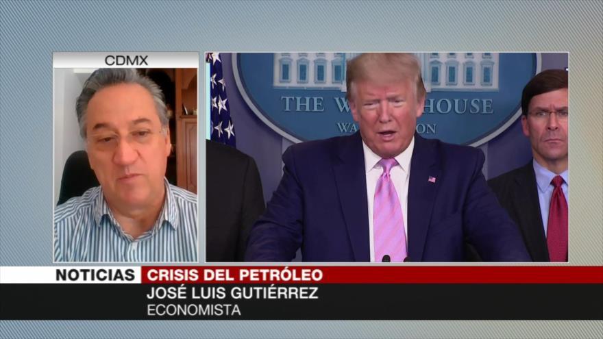 Gutiérrez: EEUU, el jugador oculto en guerra por precio del crudo | HISPANTV