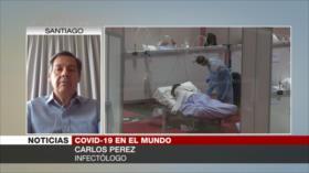 Pérez: El COVID-19 no se transmite por el aire
