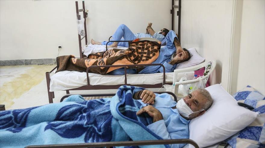 Un centro de salud para los contagiados del nuevo coronavirus en la ciudad de Qom, 31 de marzo de 2020. (Foto: Fars)