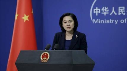 China advierte sobre juego político de EEUU y Taiwán con COVID-19