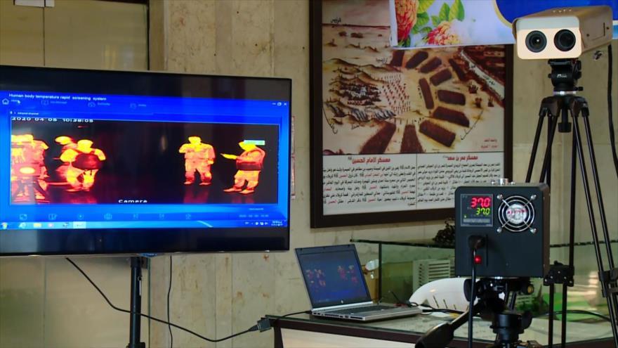 Irán diseña sistema para detectar afectados por coronavirus