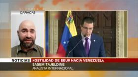 Tajeldine: Carta de Maduro busca concientizar a pueblo de EEUU