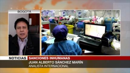 Marín: Con sus sanciones, EEUU busca destruir pueblos enteros