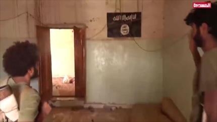 Vídeo: Fuerzas yemeníes descubren cárceles de Daesh en Al-Yawf