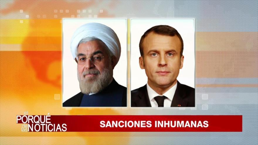 El Porqué de las Noticias: Sanciones contra Irán. Covid-19 en Europa. Coronavirus en América Latina