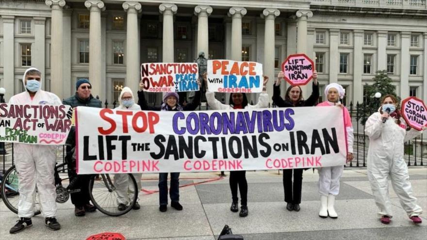 60 organizaciones de España piden fin de sanciones de EEUU a Irán