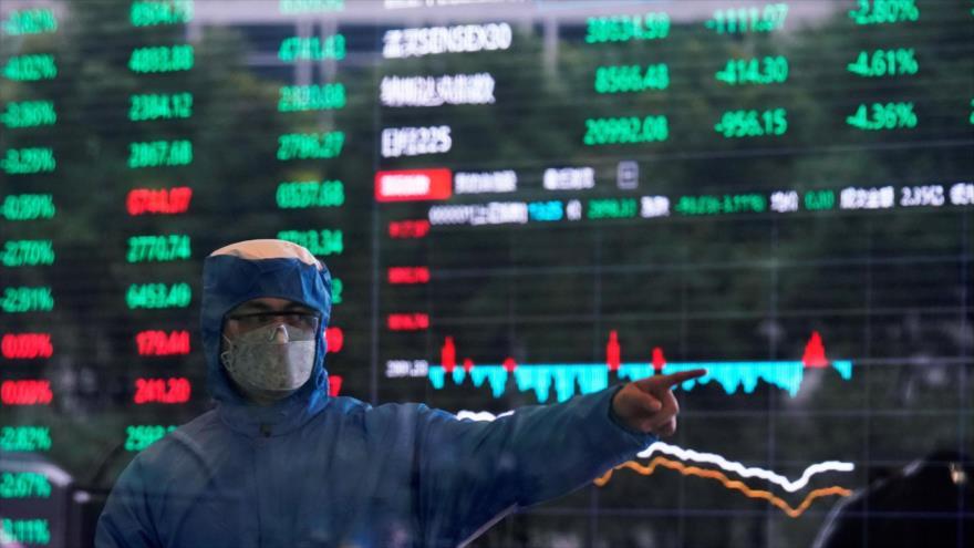 Economía mundial sufrirá durante 7 años los efectos de COVID-19 | HISPANTV