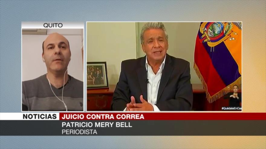 Mery Bell: Juicio contra Correa busca expulsarlo de la política   HISPANTV