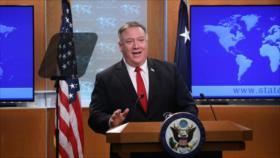 Pompeo: Las sanciones contra Irán continuarán pese a la pandemia