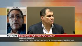 Ramos: Sentencia contra Correa es un caso de persecución política