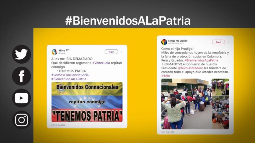 Etiquetaje: Caracas da bienvenida al regreso de migrantes venezolanos