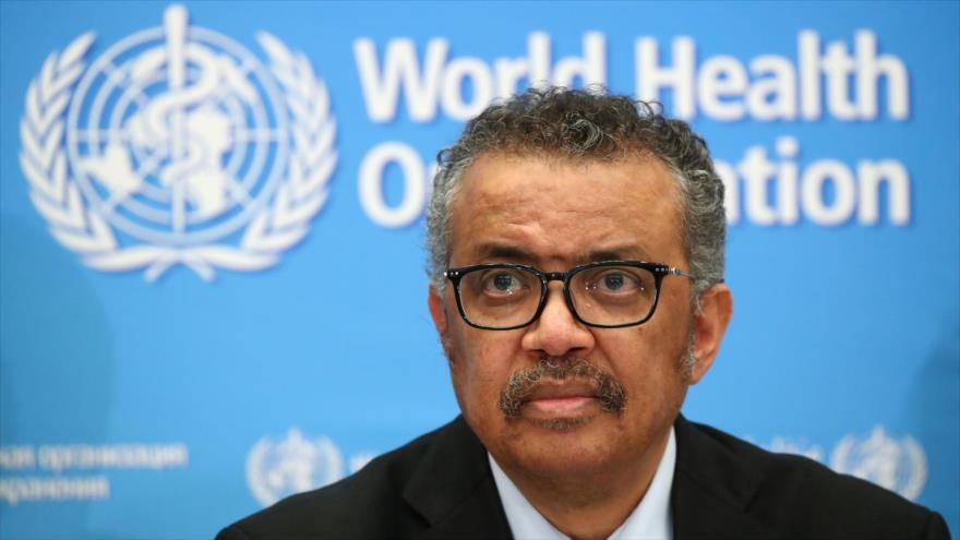 El director de la OMS, Tedros Adhanom Ghebreyesus, en una rueda de prensa sobre la COVID-19, Ginebra, Suiza, 24 de febrero de 2020. (Foto: Reuters)