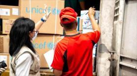 Venezuela recibe avión con 90 toneladas de insumos médicos de ONU